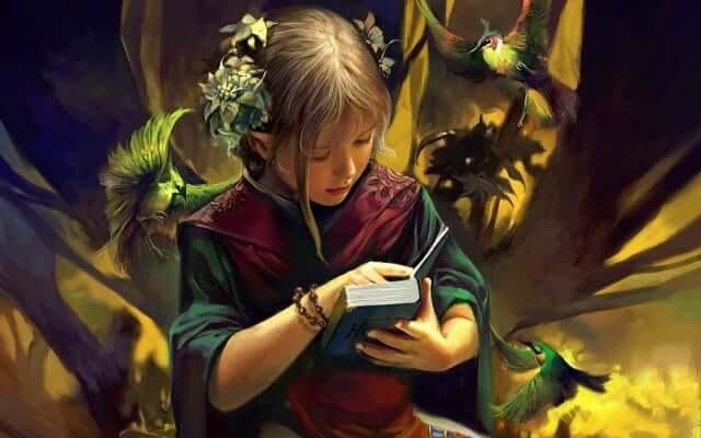 reading a book also makes you fantasize.