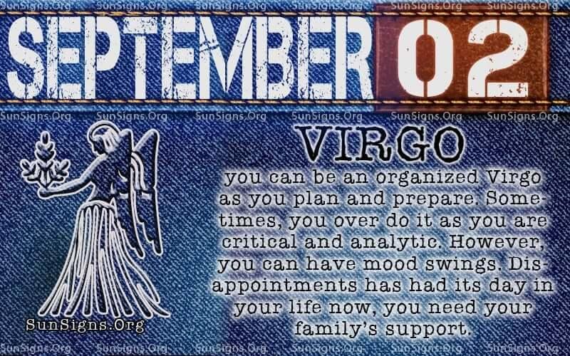 September 2 virgo