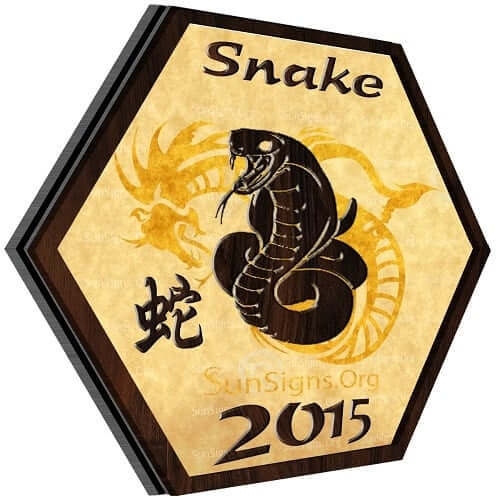 Snake Horoscope 2015: Chinese astrology predictions 2015 for the Snake forecast a prosperous year.