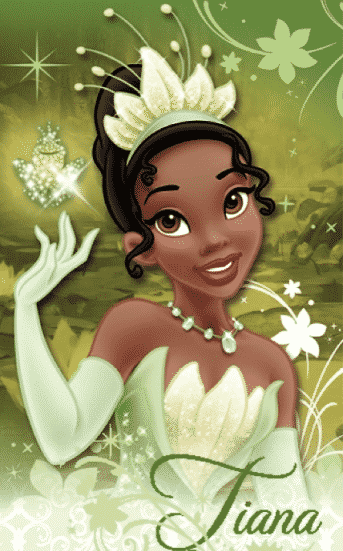 Tiana is hard working and inspiring.
