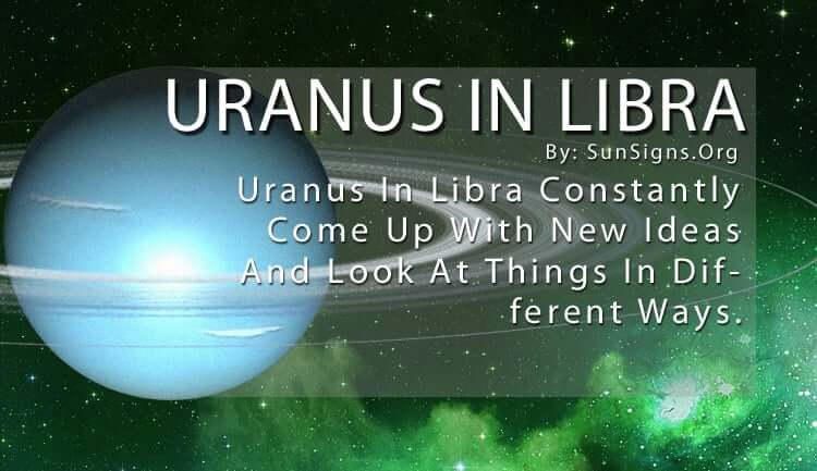 The Uranus In Libra