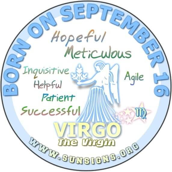 FOR THOSE BORN ON SEPTEMBER 16, you have a tendency to go beyond the limit.