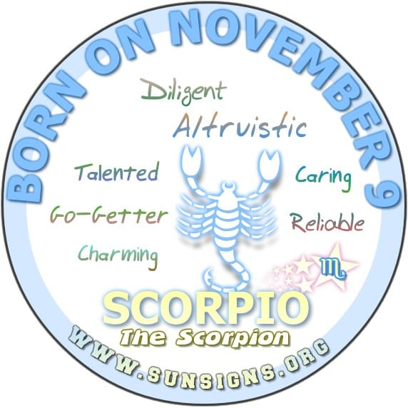 Horoscope for birthday november 9