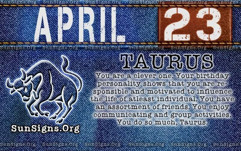 april 23 birthday