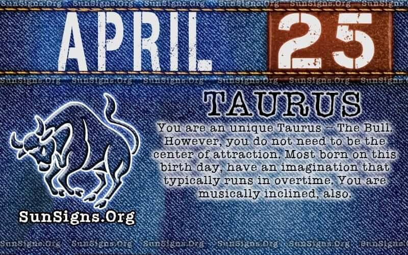 april 25 birthday