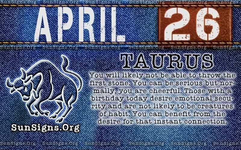 april 26 birthday