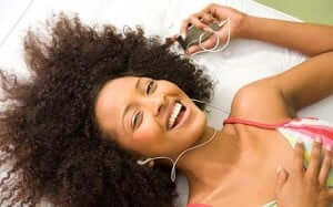 Play music for company and to manage your mood.