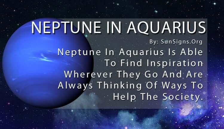 The Neptune In Aquarius