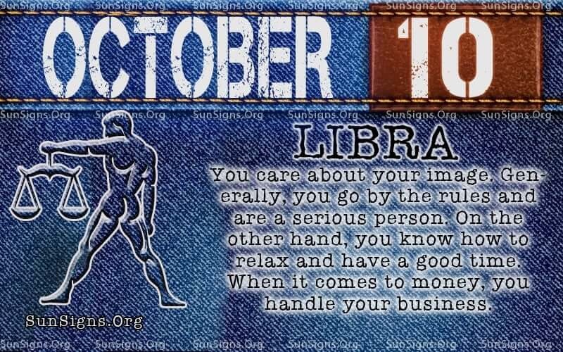 October 10 Zodiac Horoscope Birthday Personality | SunSigns Org