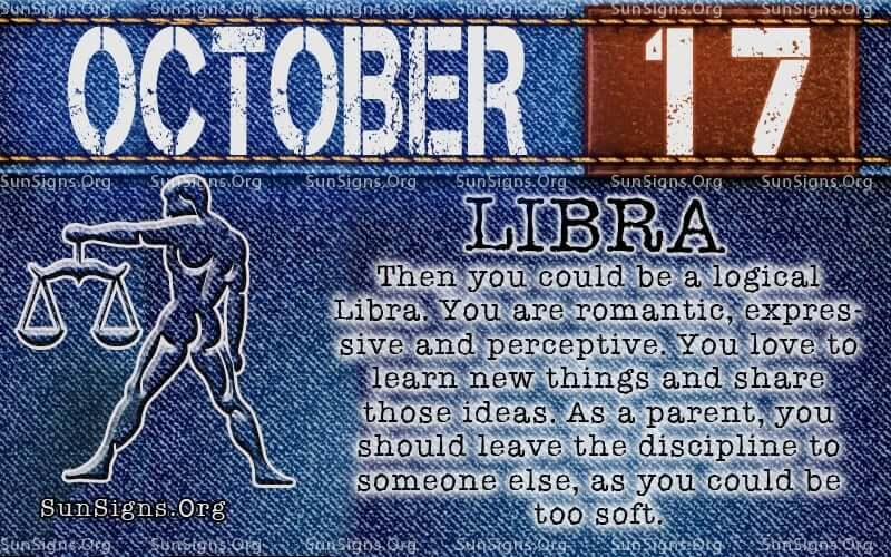 october 17 libra birthday calendar