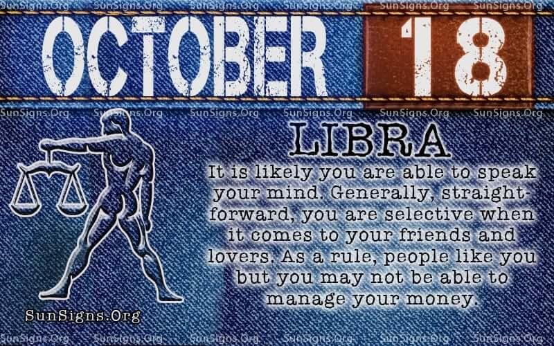 october 18 libra birthday calendar