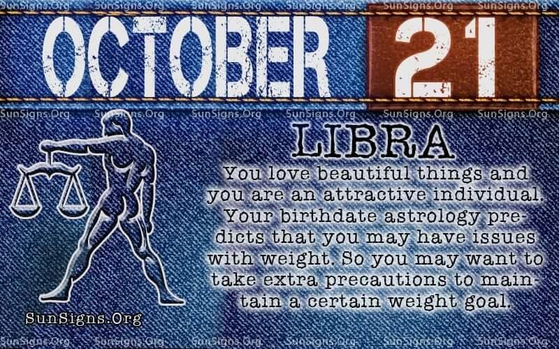 october 21 libra birthday calendar