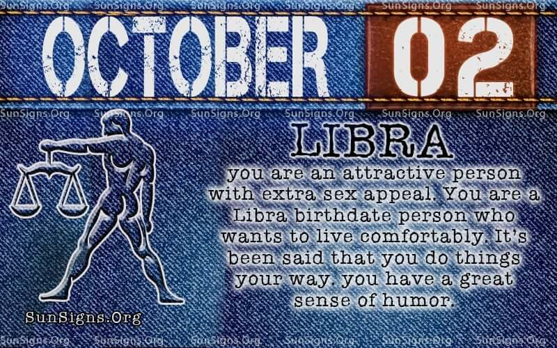 October 2 Zodiac Horoscope Birthday Personality Sunsigns Org