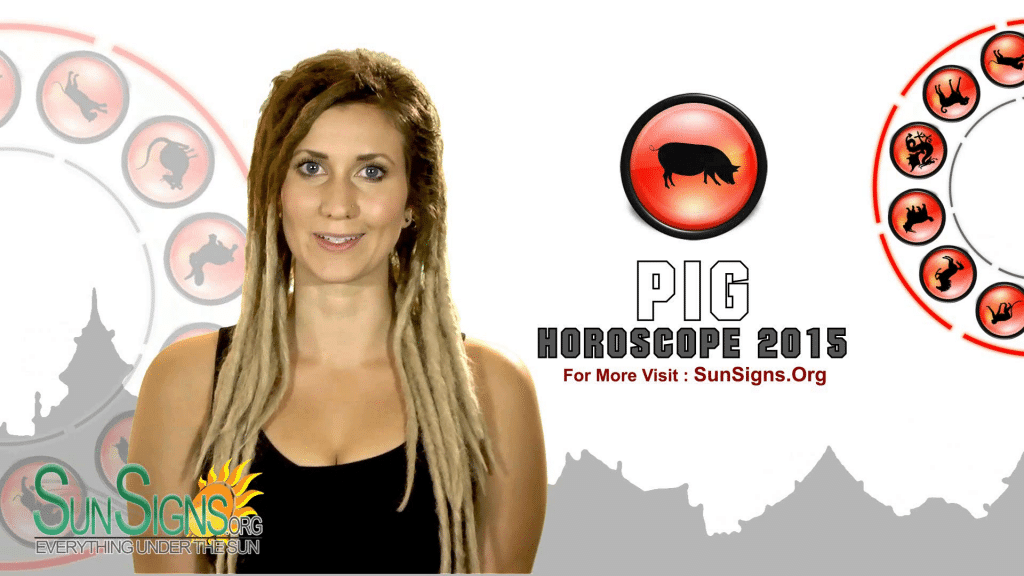 pig 2015 horoscope