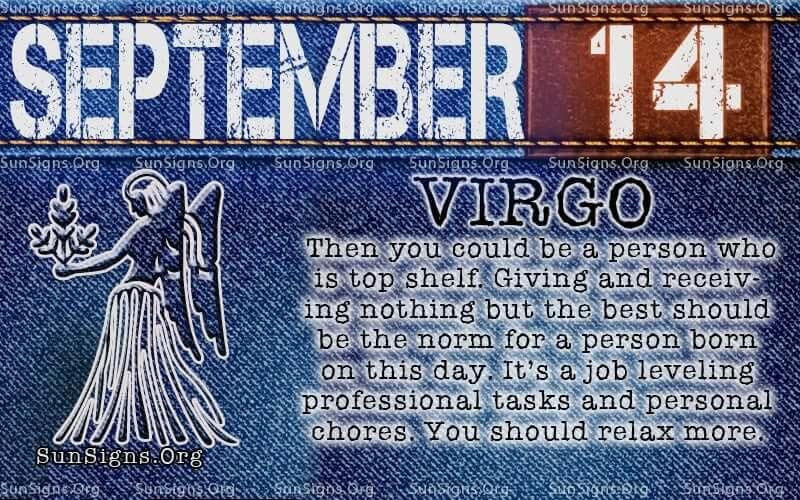 september 14 virgo birthday calendar