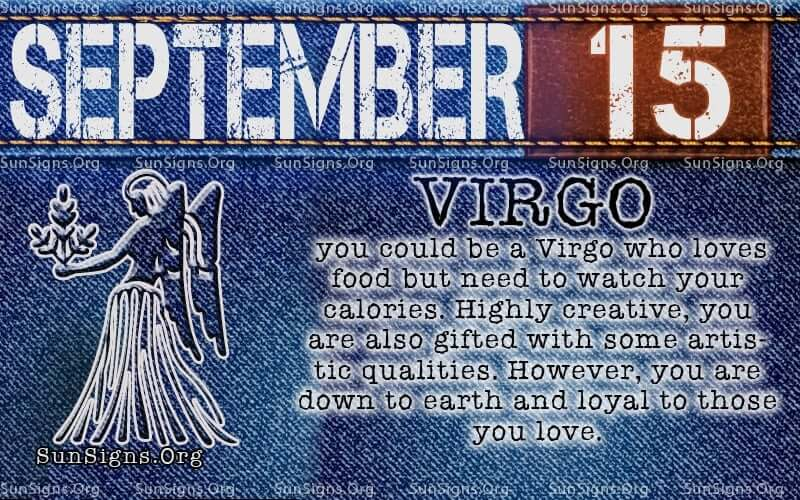september 15 virgo birthday calendar
