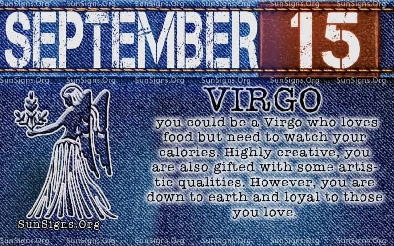 september 15 virgo birthday calendar