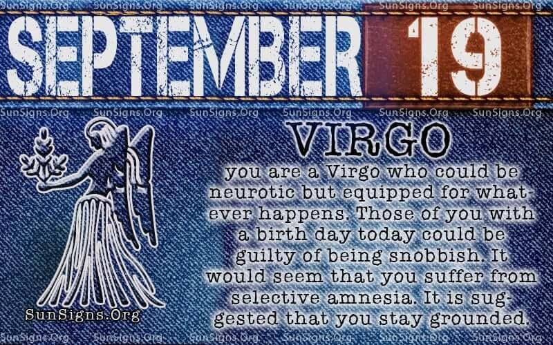 september 19 virgo birthday calendar