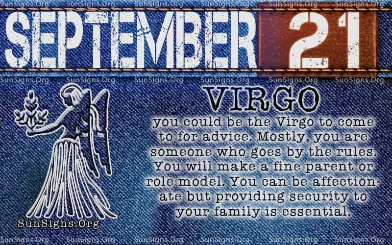 september 21 virgo birthday calendar