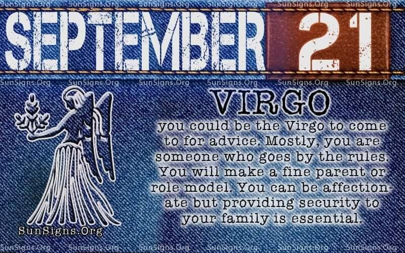 September 21 Birthday Horoscope Personality | Sun Signs