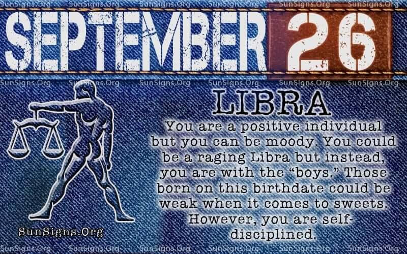 september 26 libra birthday calendar
