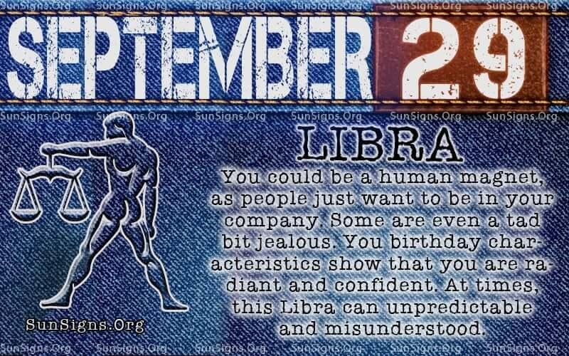 september 29 libra birthday calendar