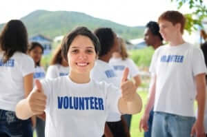 volunteer for the community
