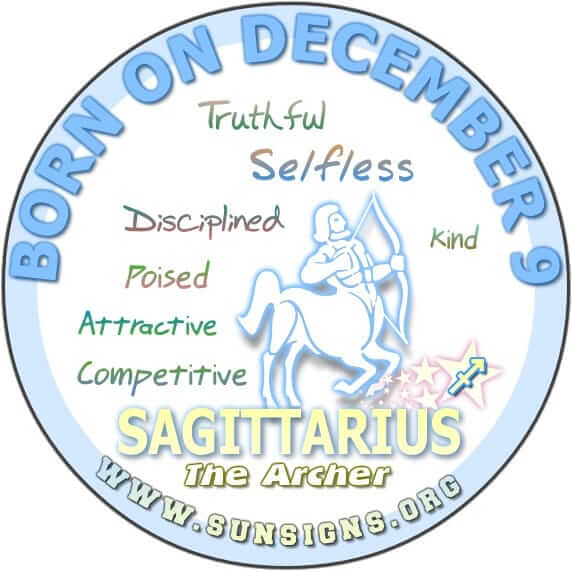 astrology december 9 birthday horoscope