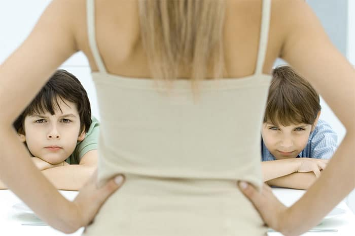 Do you both share the same attitude to bringing up children in terms of discipline, in terms of eduction and religion?