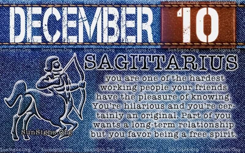 december 10 birthday