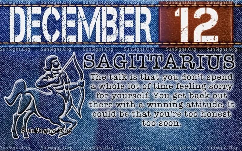 December 12 Birthday Horoscope Personality Sun Signs