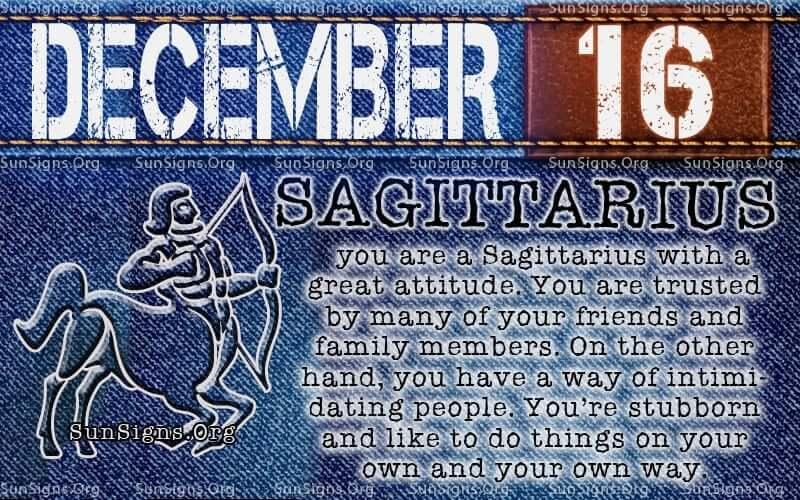 december 16 birthday