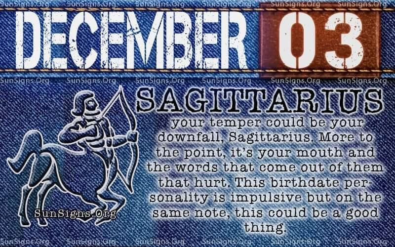 december 3 birthday