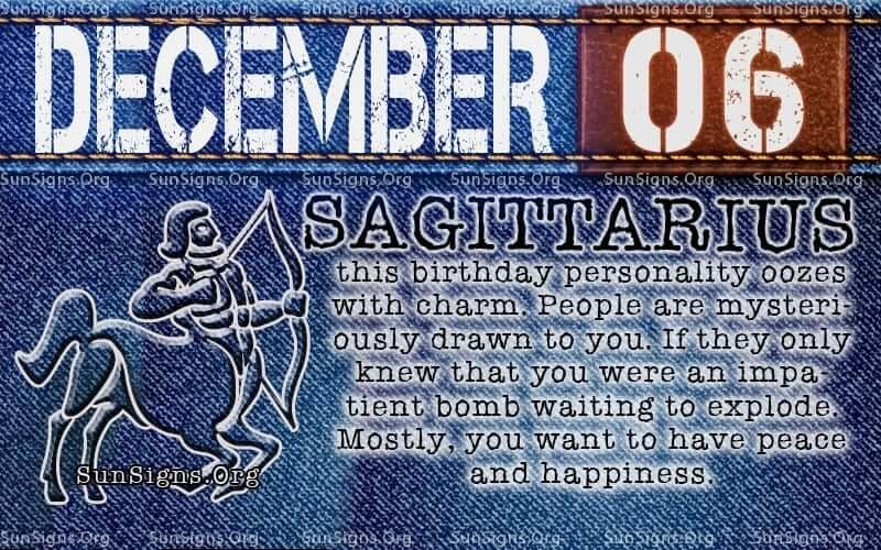 december 6 birthday