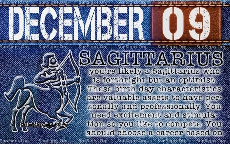 december 9 birthday