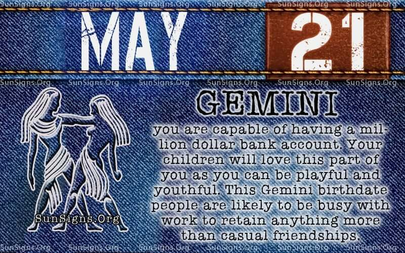 may 21 birthday