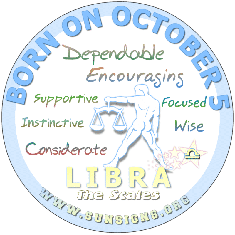 October 5 Birthday Horoscope Personality