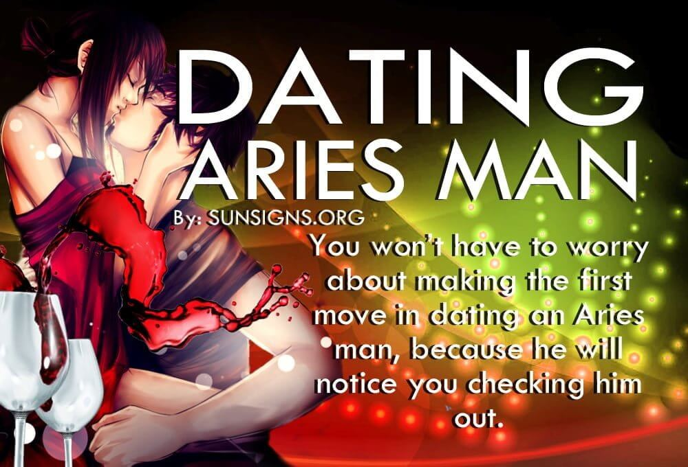 dating an aries man