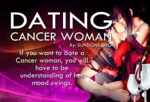 dating a cancer woman How to date a cancer cancer women are the definition of the woman waiting.