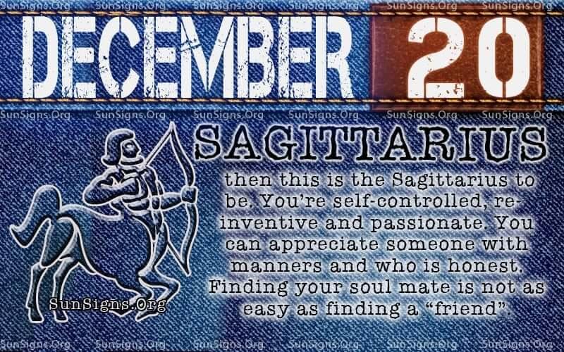 december 20 birthday