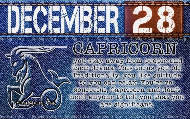 december 28 birthday