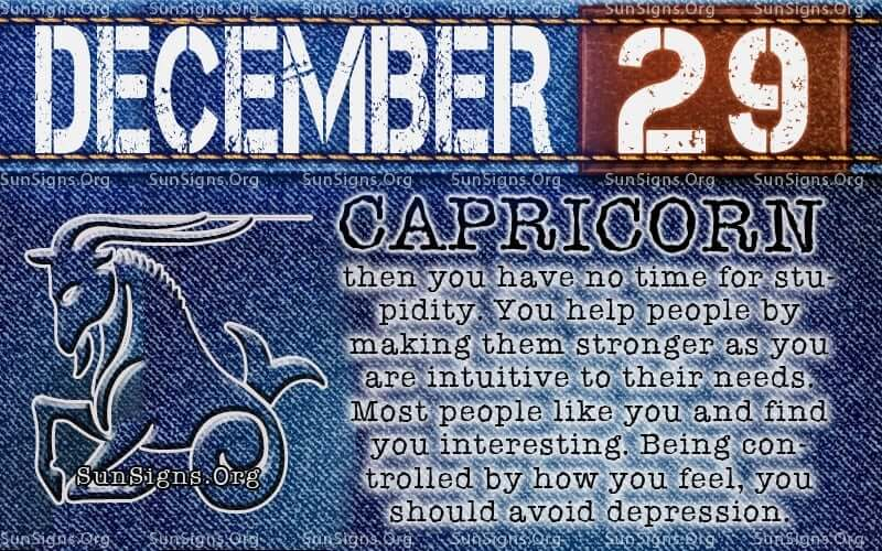 december 29 birthday