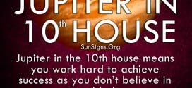 Jupiter In 10th House. Jupiter in the 10th house means you work hard to achieve success as you don't believe in good luck.