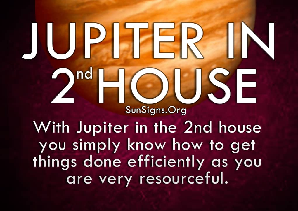 The Jupiter In 2nd House