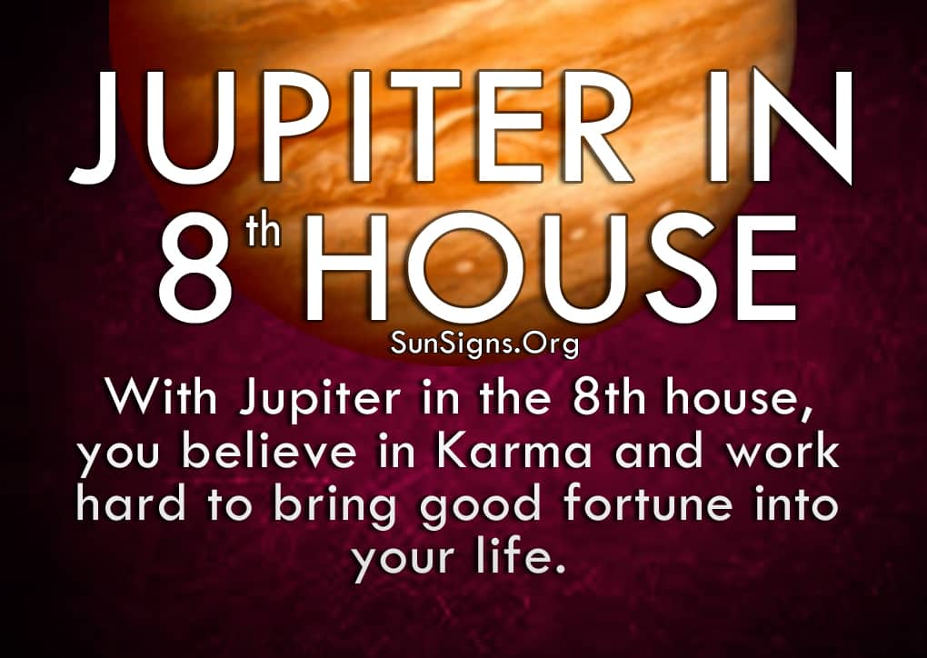 Jupiter In 8th House Meaning And Significance | SunSigns Org