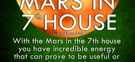 With the Mars in the 7th house you have incredible energy that can prove to be useful or detrimental.