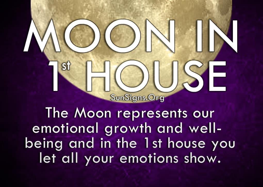 The Moon in 1st House