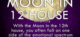 Moon In 12th House. With the Moon in the 12th house, you often fall on one side of the emotional spectrum or the other.