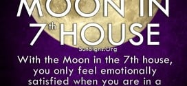 Moon In 7th House. With the Moon in the 7th house, you only feel emotionally satisfied when you are in a romantic partnership.