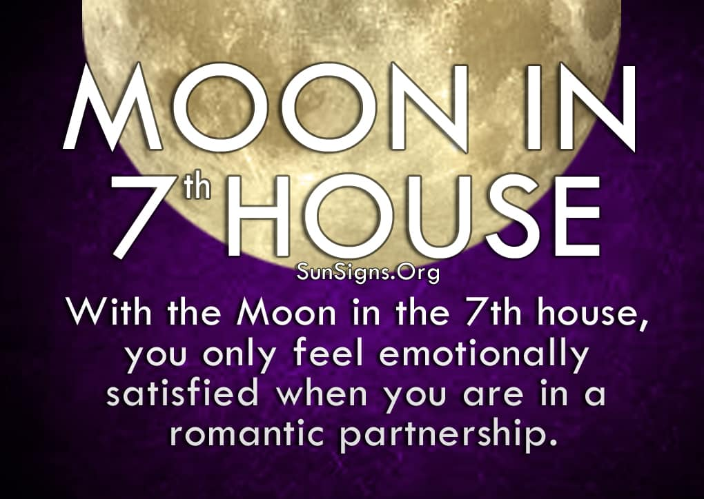 Moon In 7th House Meaning And Significance | SunSigns Org